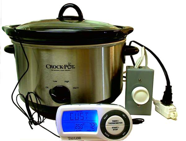 How To Make And Use A Slow Cooker Temperature Control
